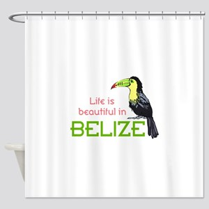 TOUCAN LIFE IN BELIZE Shower Curtain