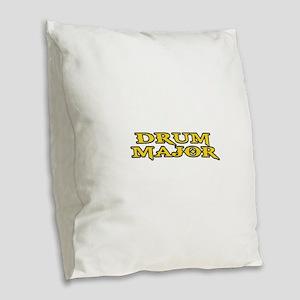 DRUM MAJOR Burlap Throw Pillow