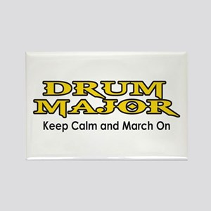 KEEP CALM MARCH ON Magnets