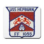 USS HEPBURN Mousepad