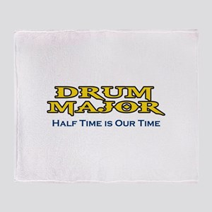 HALF TIME IS OUR TIME Throw Blanket