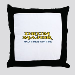 HALF TIME IS OUR TIME Throw Pillow