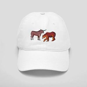 Bull And Bear Baseball Cap