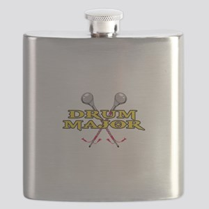 DRUM MAJOR WITH BATONS Flask