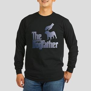 Old English Bulldog Long Sleeve Dark T-Shirt