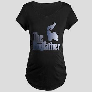 Old English Sheepdog Maternity Dark T-Shirt