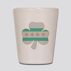 irishchicagoflag Shot Glass