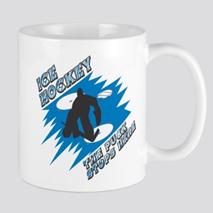 The Puck Stops Here Mug