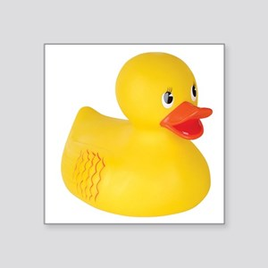 Classic Rubber Ducky Toy Sticker