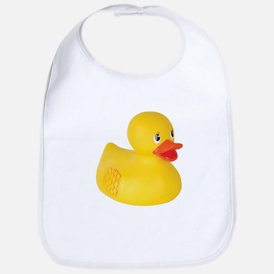 Classic Rubber Ducky Toy Bib