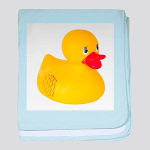 Classic Rubber Ducky Toy baby blanket