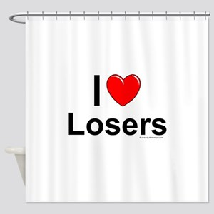 Losers Shower Curtain