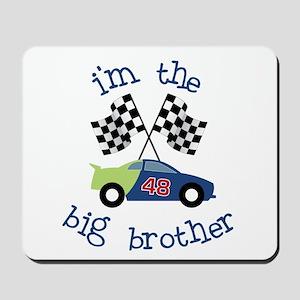 big brother race car Mousepad