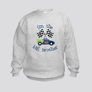 big brother race car Kids Sweatshirt