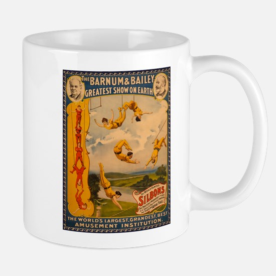 BARNUM AND BAILEY ACROBAT coffee cup