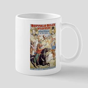 BUFFALO BILL WILD WEST coffee cup
