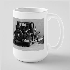 Vintage Auto w Rumble Seat Mugs