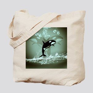 Amazing Orca Tote Bag