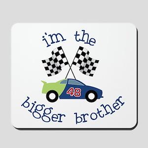 bigger brother race Mousepad