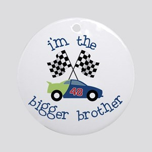 bigger brother race Ornament (Round)