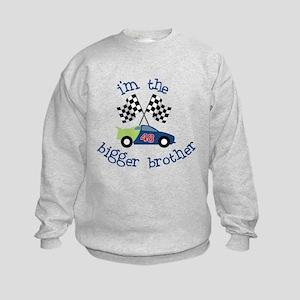bigger brother race Kids Sweatshirt
