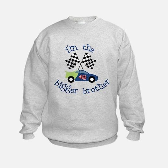 bigger brother race Sweatshirt
