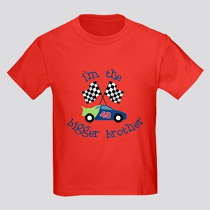 bigger brother race Kids Dark T-Shirt