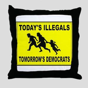 AMERICA'S ENEMY Throw Pillow