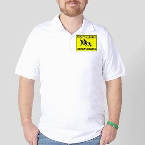 AMERICA'S ENEMY Golf Shirt