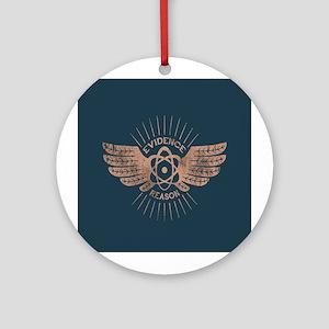 Winged Atom Ornament (Round)