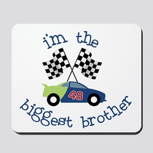 biggest brother race Mousepad