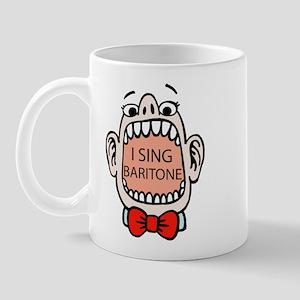 I Sing Baritone Mug