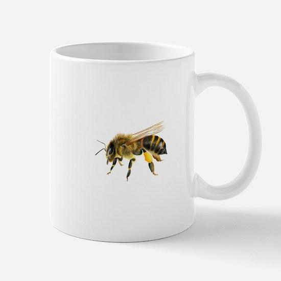 Honey bee watercolour / watercolor painting Mugs