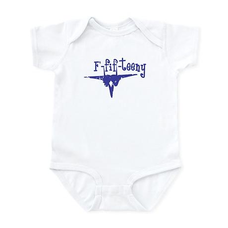 F-fif-teeny blue Infant Bodysuit