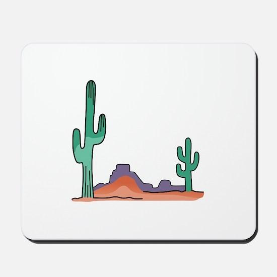 DESERT SCENE Mousepad