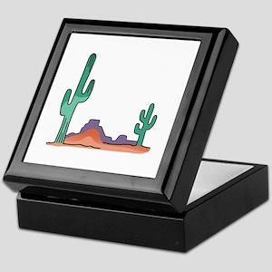 DESERT SCENE Keepsake Box