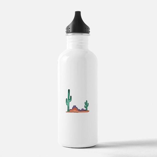 DESERT SCENE Water Bottle