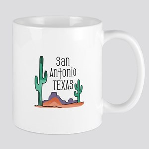 San Antonio Texas Mugs