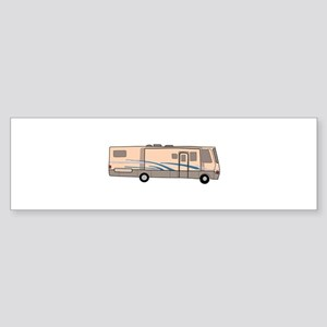 RV MOTORHOME Bumper Sticker