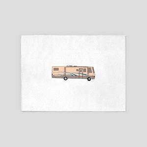 RV MOTORHOME 5'x7'Area Rug