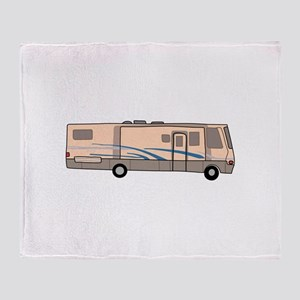 RV MOTORHOME Throw Blanket