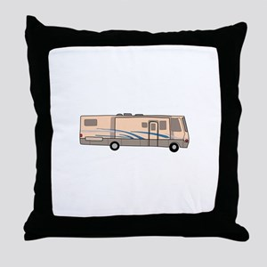 RV MOTORHOME Throw Pillow