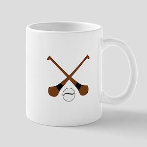 HURLING BATS AND BALL Mugs