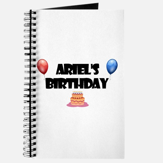 Ariel's Birthday Journal