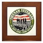 Vietnam Veterans Framed Tile