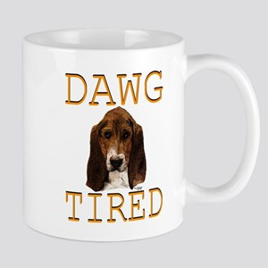 Dawg Tired Basset Mug