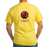 [inclusion works] Yellow T-Shirt