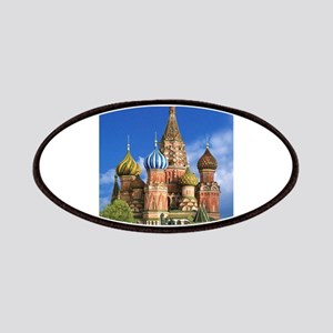 Moscow Kremlin Saint Basil's Cathedral Red S Patch