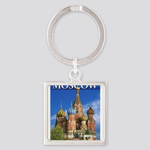 Moscow Kremlin Saint Basil's Cathedral R Keychains