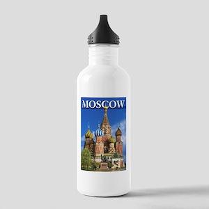 Moscow Kremlin Saint B Stainless Water Bottle 1.0L